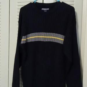 Men's Beautiful Blue& Gray Sweater by Aeropostale